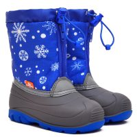 ПС23М1 снежинки на синем (3)